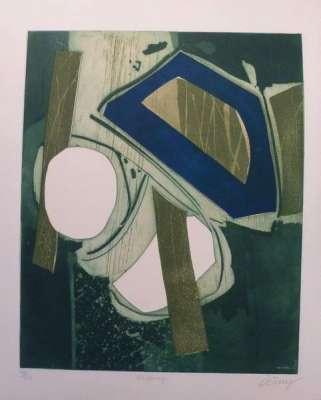 Kilkenny (Eau-forte et aquatinte) - Bertrand DORNY