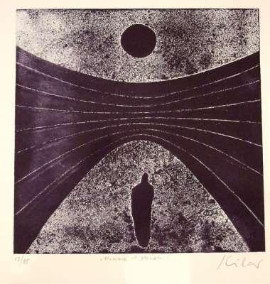 Homme et planète (Gravure) - Stéphane KILAR