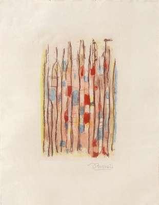Sans titre (Gravure) - Roger BISSIERE