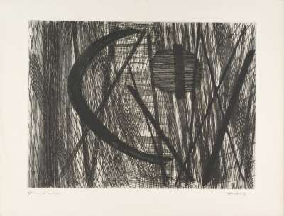 G11 (Etching and aquatint) - Hans HARTUNG