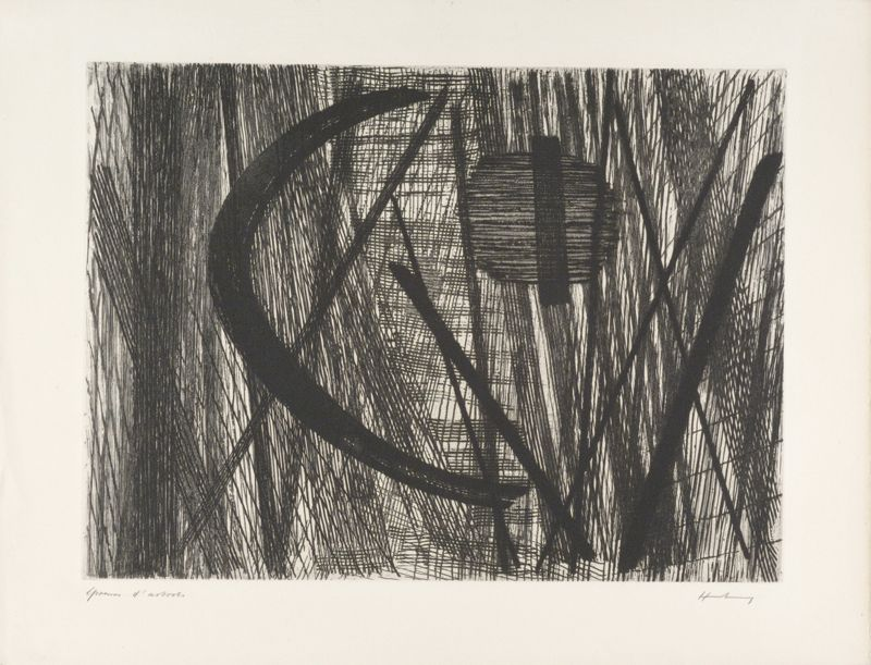 G11 (Eau-forte et aquatinte) - Hans HARTUNG
