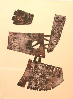 Berto LARDERA / Composition (Radierung) -  Artistes Divers