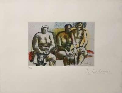(Lithograph) -  LE CORBUSIER