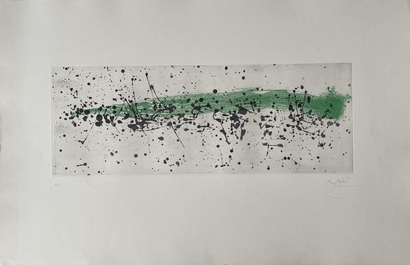 Ouvrage du vent I (Aquatinte) - Joan  MIRO