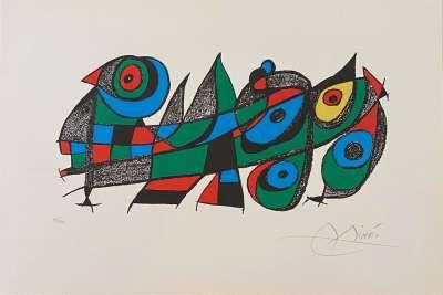 Miro Sculpteur (Lithographie) - Joan  MIRO