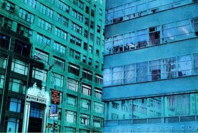 The Fuller Building (Tirage argentique rehaussé couleur) - Elizabeth LENNARD