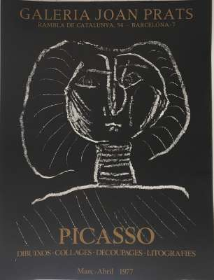 Galeria Joan Prats (Poster) - Pablo  PICASSO