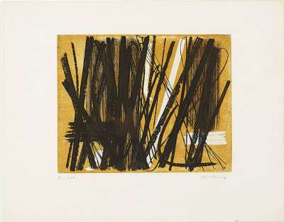 G5 (Eau-forte et aquatinte) - Hans HARTUNG