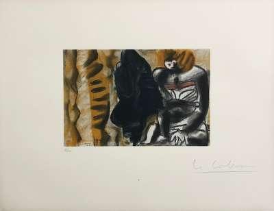 (Lithographie) -  LE CORBUSIER