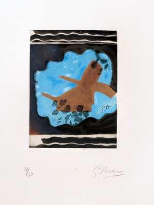 Migration (Eau-forte) - Georges BRAQUE