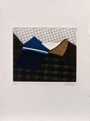 Sans titre (Eau-forte et aquatinte) - Bertrand DORNY